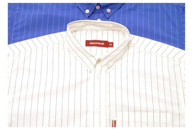 Stripe B.D. S/S Shirt color