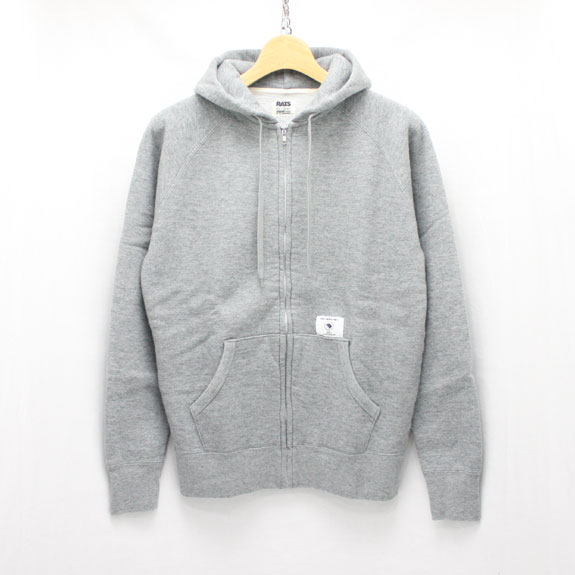 RATS ZIP UP PARKA:TOP GREY