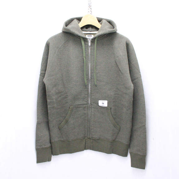 RATS ZIP UP PARKA:KHAKI