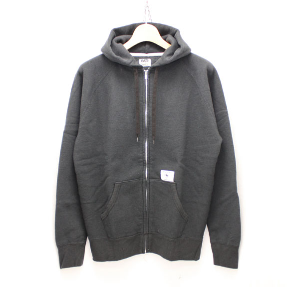 RATS ZIP UP PARKA:CHARCOAL