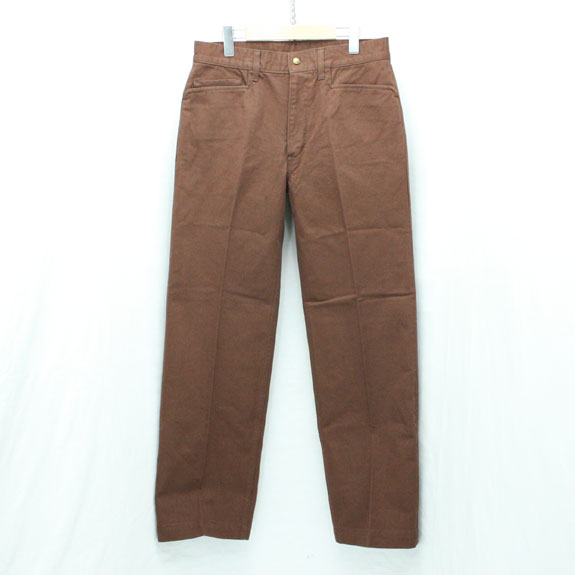 RATS FRISCO TWILL PANTS:BROWN