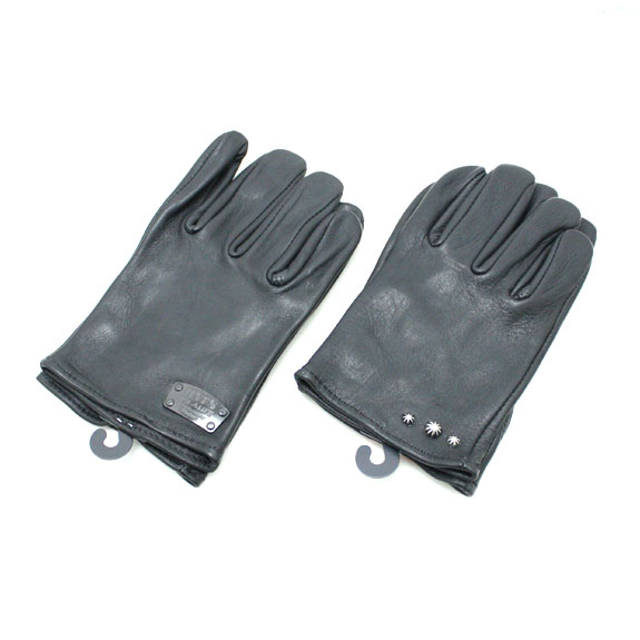 RATS LEATHER GLOVES:PLATE