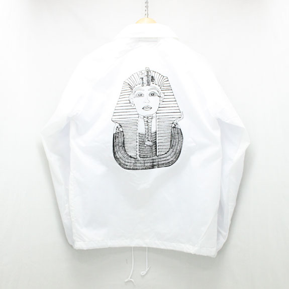 HIDE&SEEK King Windbreaker:WHITE