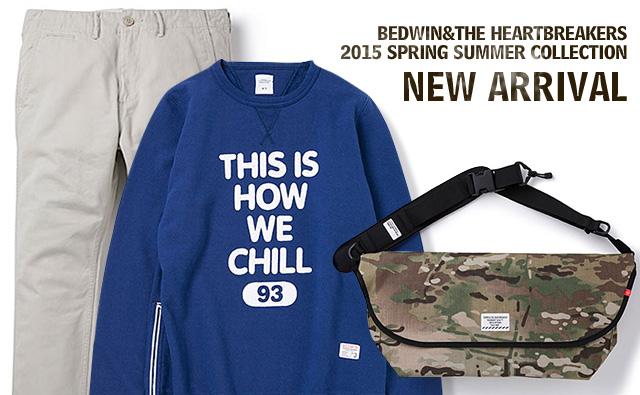 BEDWIN 2015SS 新作入荷