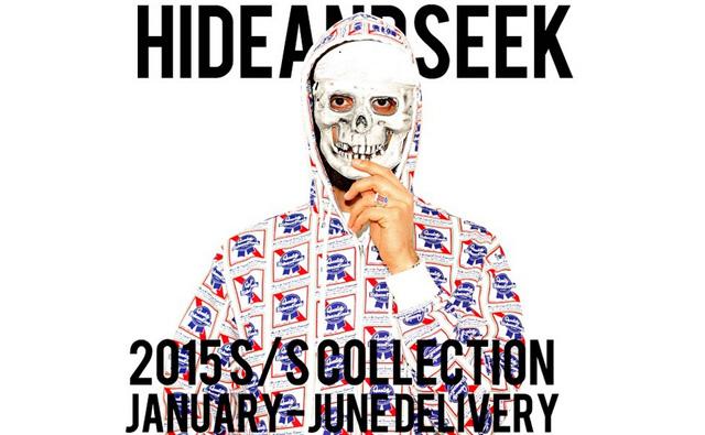 hideandseek 15ss コーディネート lookbook カタログ