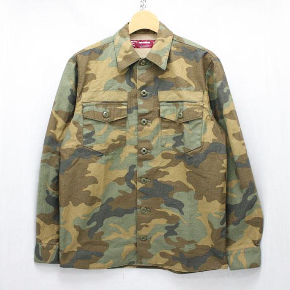 HIDE&SEEK Army Shirt (15ss):WOODLAND CAMO