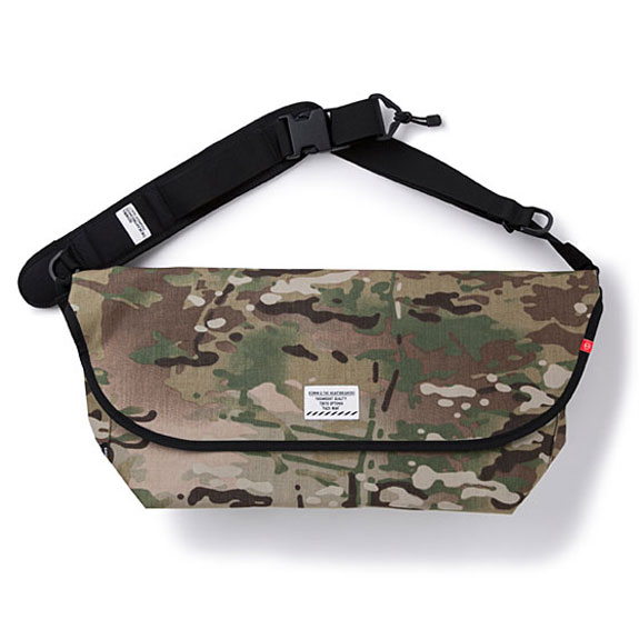 BEDWIN MESSENGER BAG 1 「HOBO LITE」:CAMO