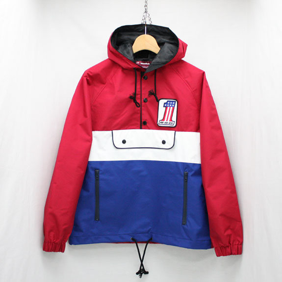 HIDE&SEEK Sports JKT (15ss):RED×BLUE