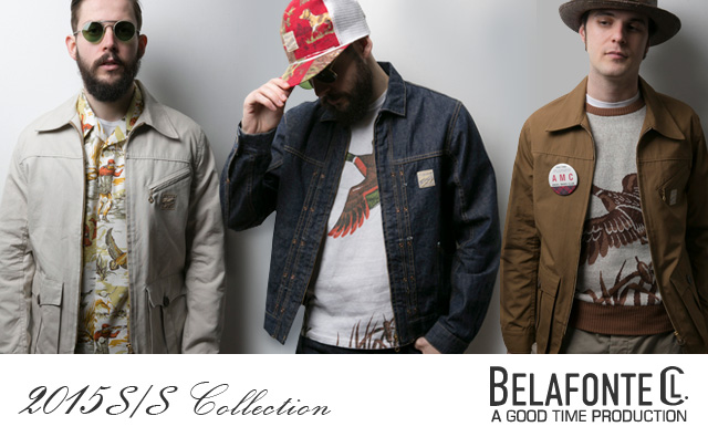 BELAFONTE 15SS コレクション カタログ