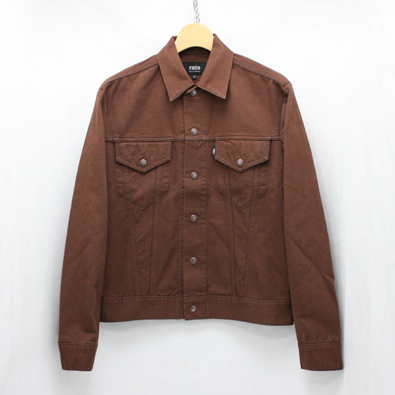 RATS THIRD TYPE JKT:BROWN