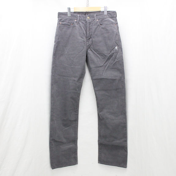 RATS CORDUROY PANTS:GREY