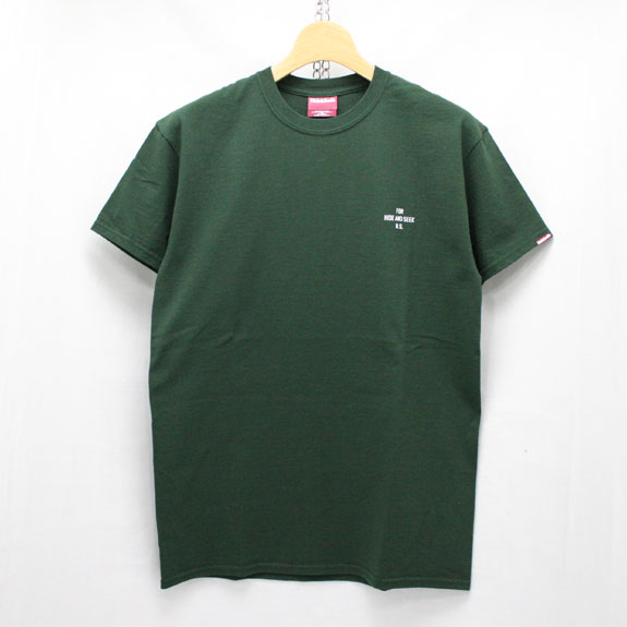 HIDE&SEEK King S/S Tee:GREEN