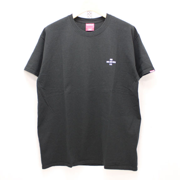 HIDE&SEEK King S/S Tee:BLACK