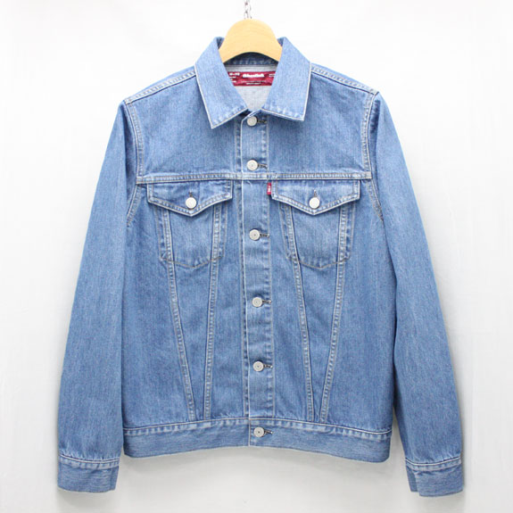 HIDE&SEEK Denim JKT (Washed 3rd Type):INDIGO