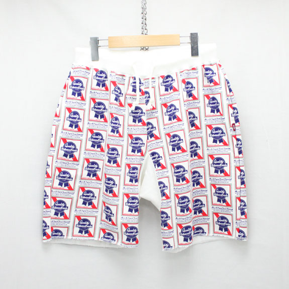 HIDE&SEEK Pub Sweat Shorts:WHITE