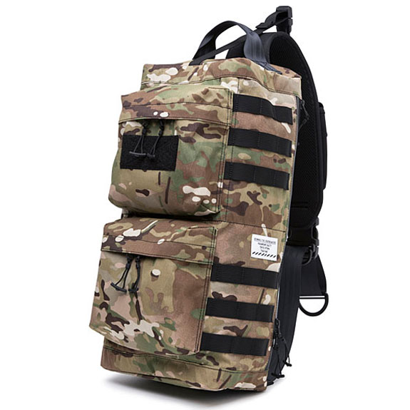 BEDWIN GO BAG GAMBLE:CAMO