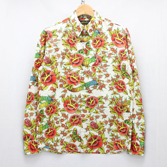 SOFT MACHINE GARDEN SHIRTS L/S:WHITE
