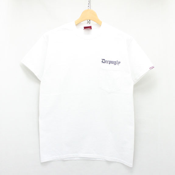 HIDE&SEEK Deep Ugly Pocket S/S Tee:WHITE