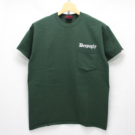 HIDE&SEEK Deep Ugly Pocket S/S Tee:GREEN
