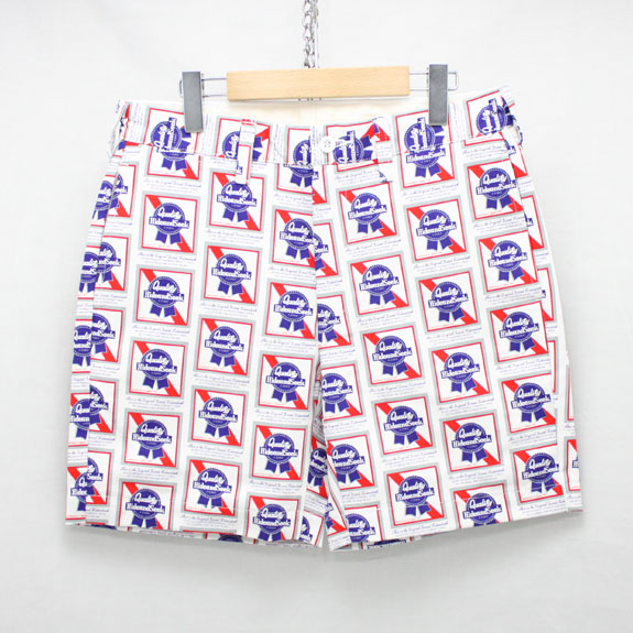 HIDE&SEEK Pub Short Pants:WHITE