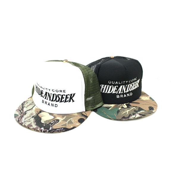 HIDE&SEEK CAMO Mesh CAP (Mesh Solid)