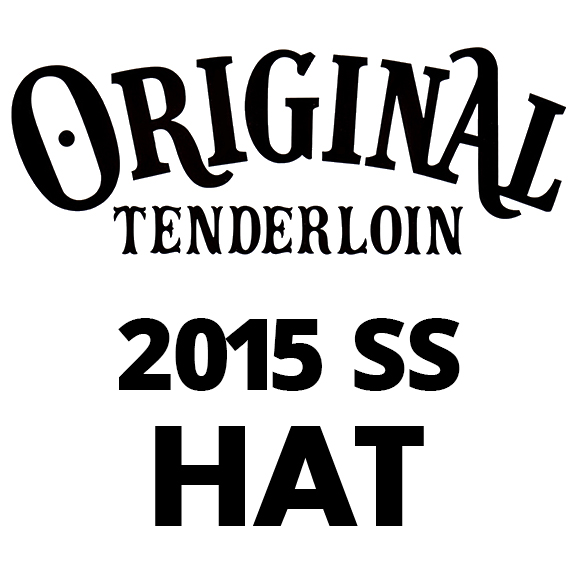 TENDERLOIN T-G.S HAT DENIM