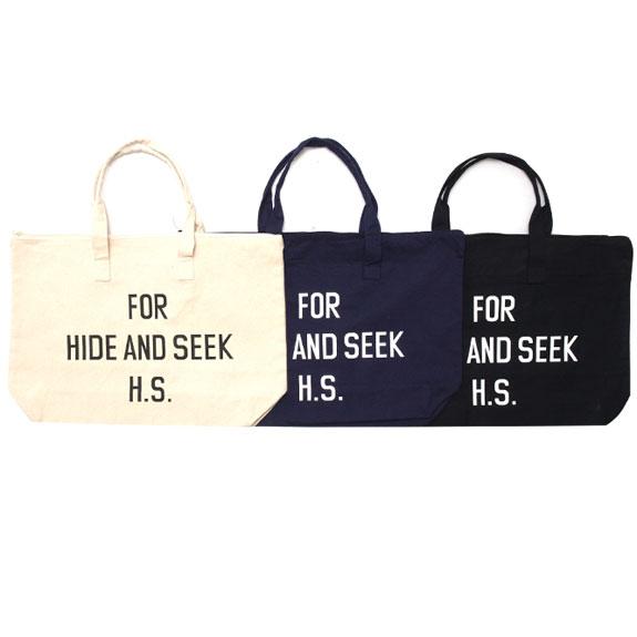 HIDE&SEEK HS Shop BAG (15ss)