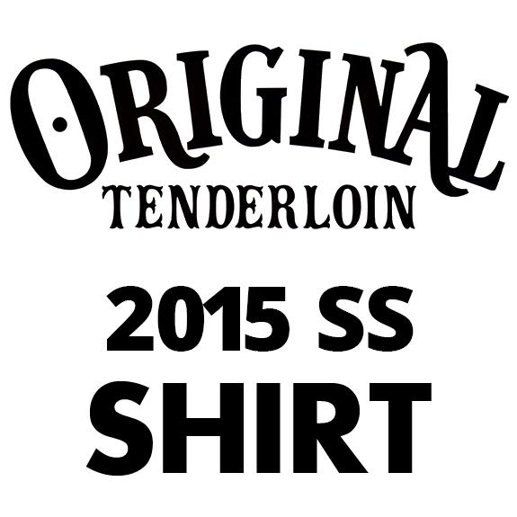 TENDERLOIN T-RAYON SHT WOLF S/S