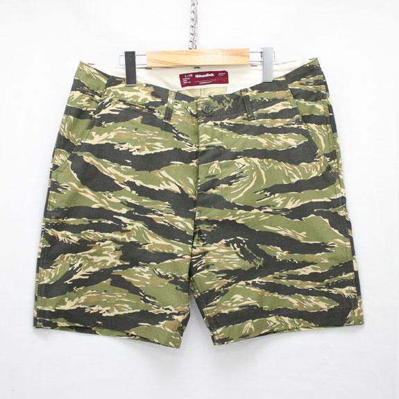 HIDE&SEEK Camo Short Pants (15ss):TIGER CAMO