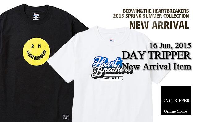 BEDWIN 2015SS 新作 プリントTシャツ 2型入荷!!