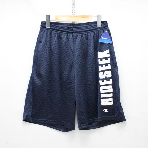 HIDE&SEEK Mesh Shorts (15ss):NAVY
