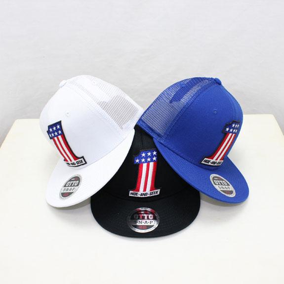 HIDE&SEEK #1 Mesh CAP (SOLID)