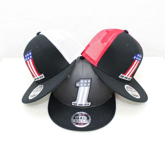 HIDE&SEEK #1 Mesh CAP (2 TONE)