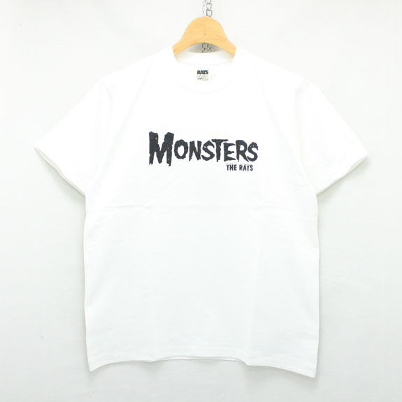 RATS MONSTERS T-SHIRTS:WHITE