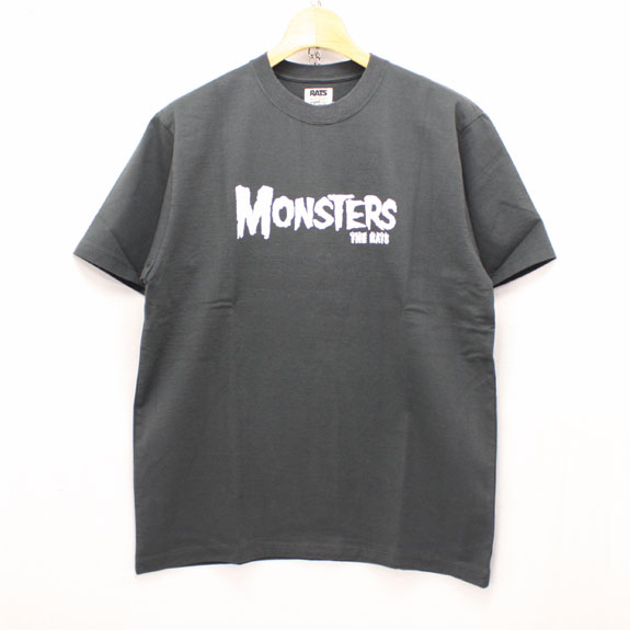 RATS MONSTERS T-SHIRTS:GRAY