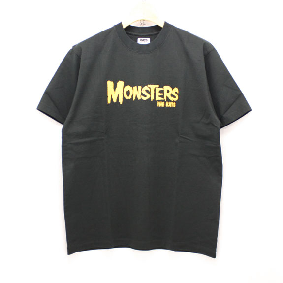 RATS MONSTERS T-SHIRTS:BLACK