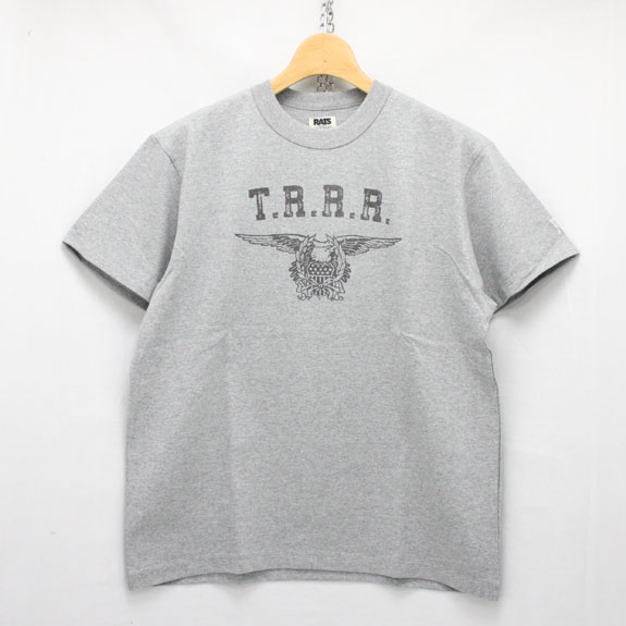 RATS MILITIA T-SHIRTS:TOP GRAY
