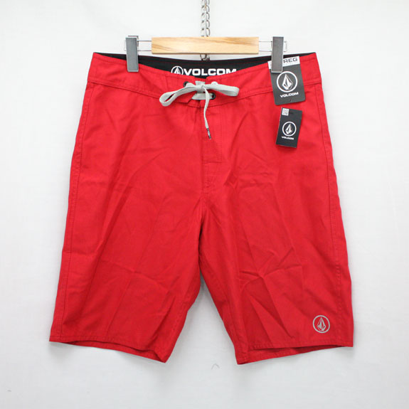 RATS VOLCOM SURF SHORTS:RED