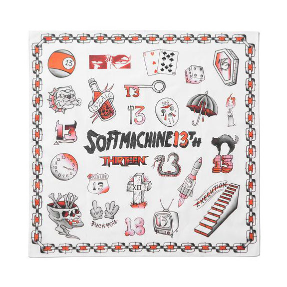 SOFT MACHINE 13th BANDANA