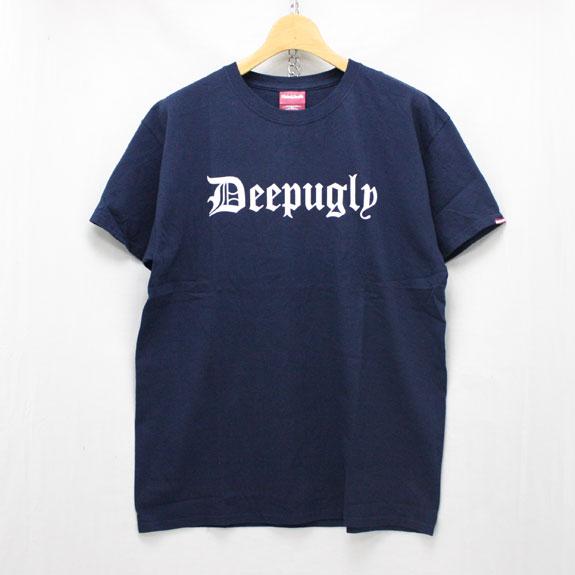 HIDE&SEEK Deepugly S/S Tee:NAVY