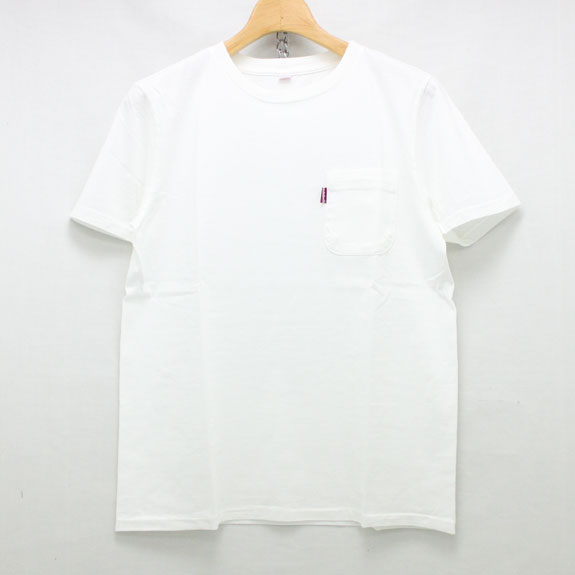 HIDE&SEEK US Factory Logo S/S Tee:WHITE