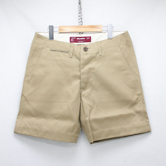 HIDE&SEEK HS Chino Shorts (15ss):KHAKI