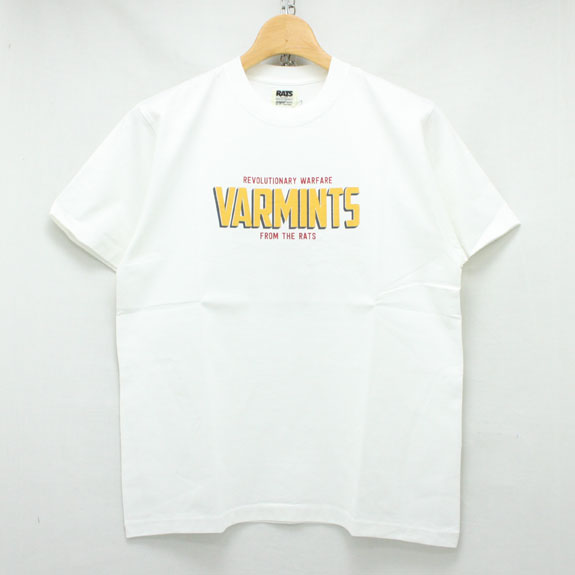 RATS VARMINTS T-SHIRTS:WHITE