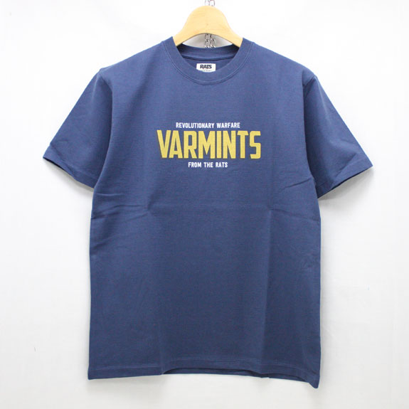 RATS VARMINTS T-SHIRTS:NAVY