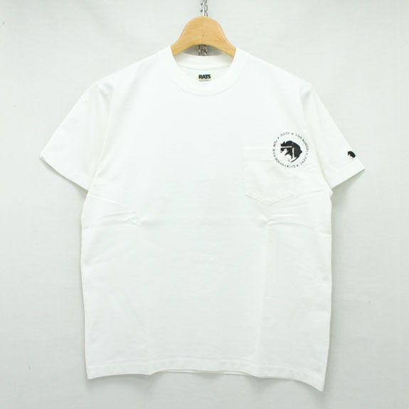 RATS ANIMALS T-SHIRTS:WHITE