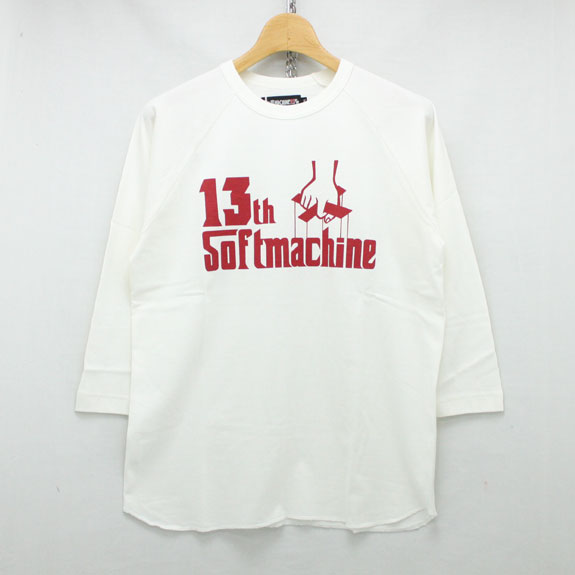 SOFT MACHINE 13th GOD RAGLAN:WHITE