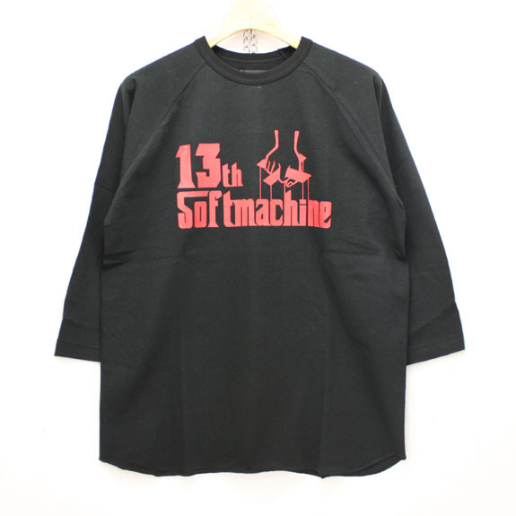 SOFT MACHINE 13th GOD RAGLAN:BLACK