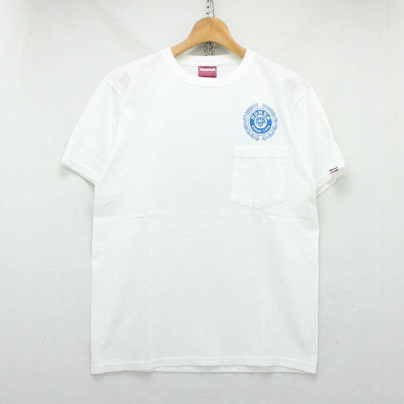 HIDE&SEEK Pubst HDNSK S/S Tee (15aw):WHITE