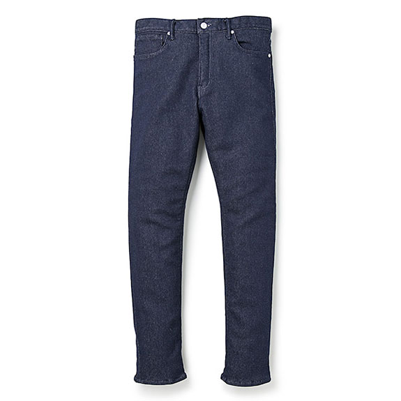 BEDWIN 10/L TAPERED SWEAT DENIM PANTS