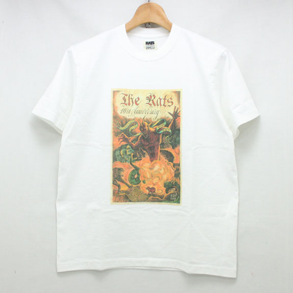 RATS 10TH INCARNATION OF DEVIL T-SHIRTS:WHITE